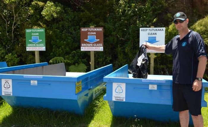 New recycling initiative creates cleaner Tutukaka Marina